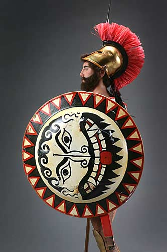 Greek Hoplite Warrior Best View