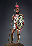 Thumbnail color image of Greek Hoplite Warrior aka.