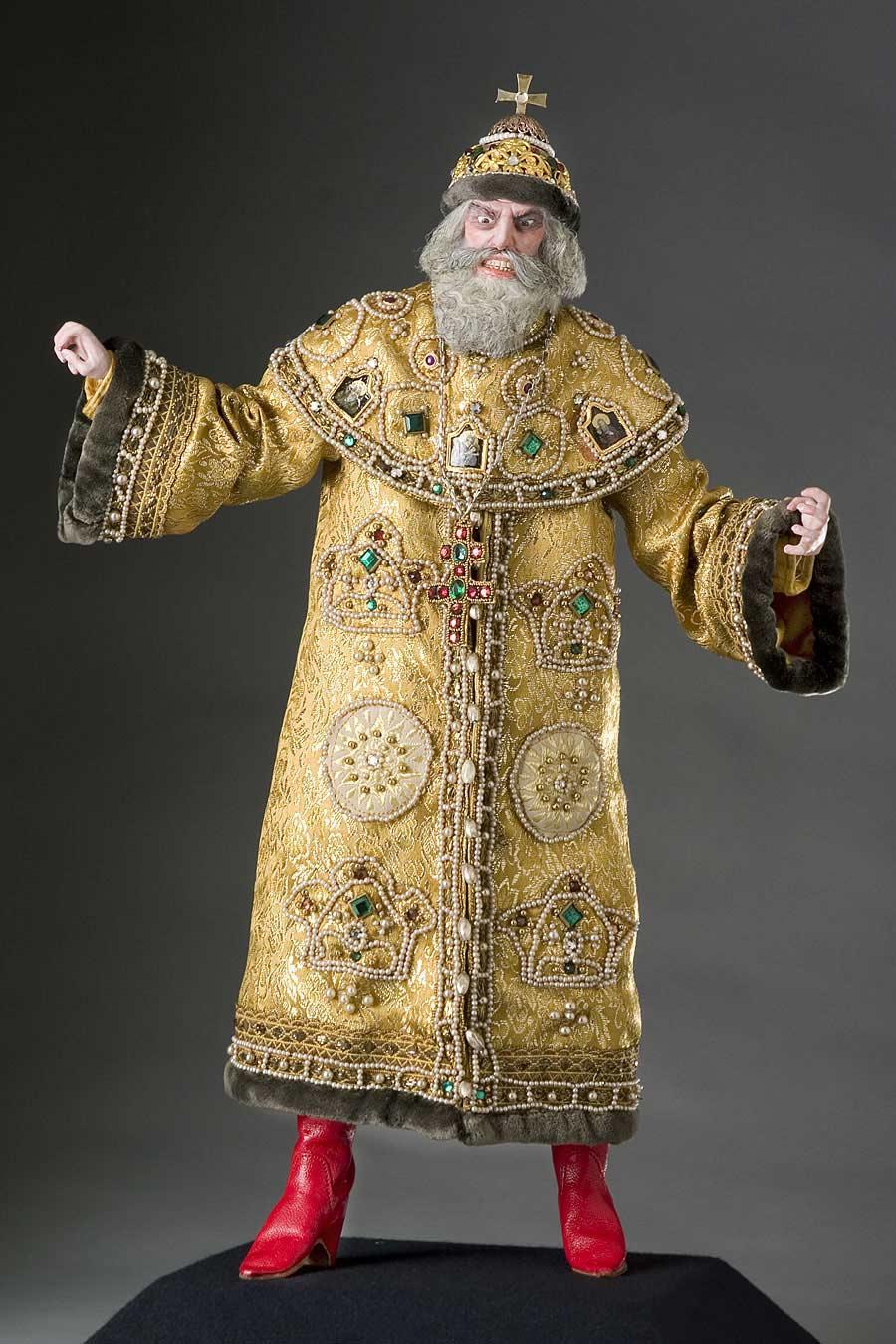 Full length color image of Ivan IV (v1) aka.