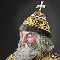Left close up color image of Ivan IV (v1) aka.
