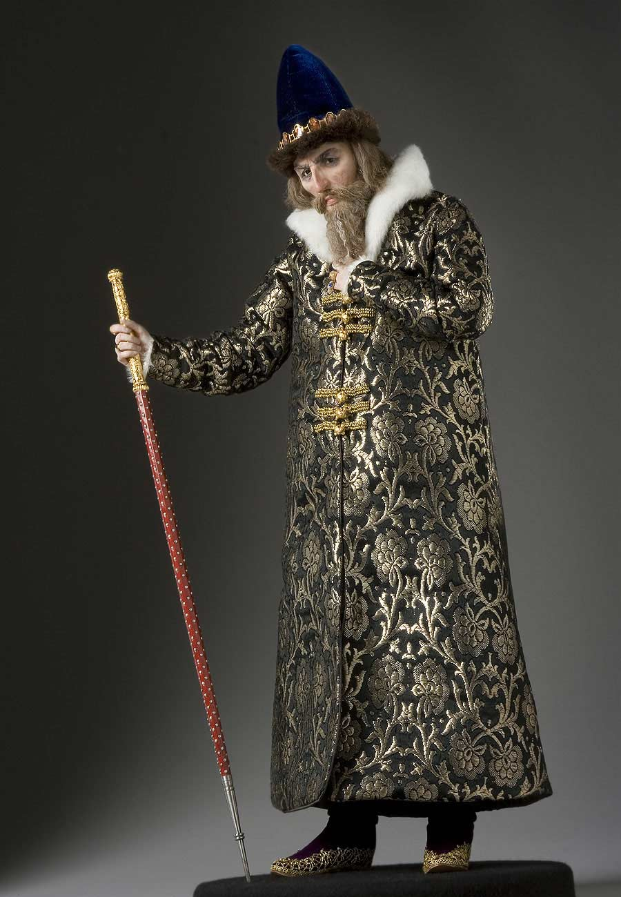 Full length color image of Ivan IV v2 aka. Ivan the Terrible, by George Stuart.