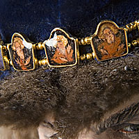 Left close up color image of Ivan IV v2 aka. Ivan the Terrible, by George Stuart.