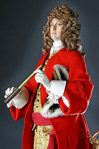 Portrait length color image of John Churchill Duke of Marlborough aka. Prince of Mindelheim, by George Stuart.