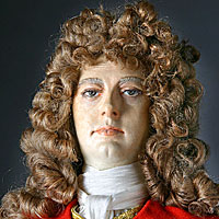 Right closup color image of John Churchill Duke of Marlborough aka. Prince of Mindelheim, by George Stuart.