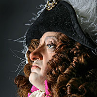 Right closup color image of James II aka. James II of England, James VII of Scotland, by George Stuart.