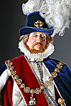 Thumbnail color image of James I aka. James I of England, James VI of Scotland, The Second Solomon, by George Stuart.