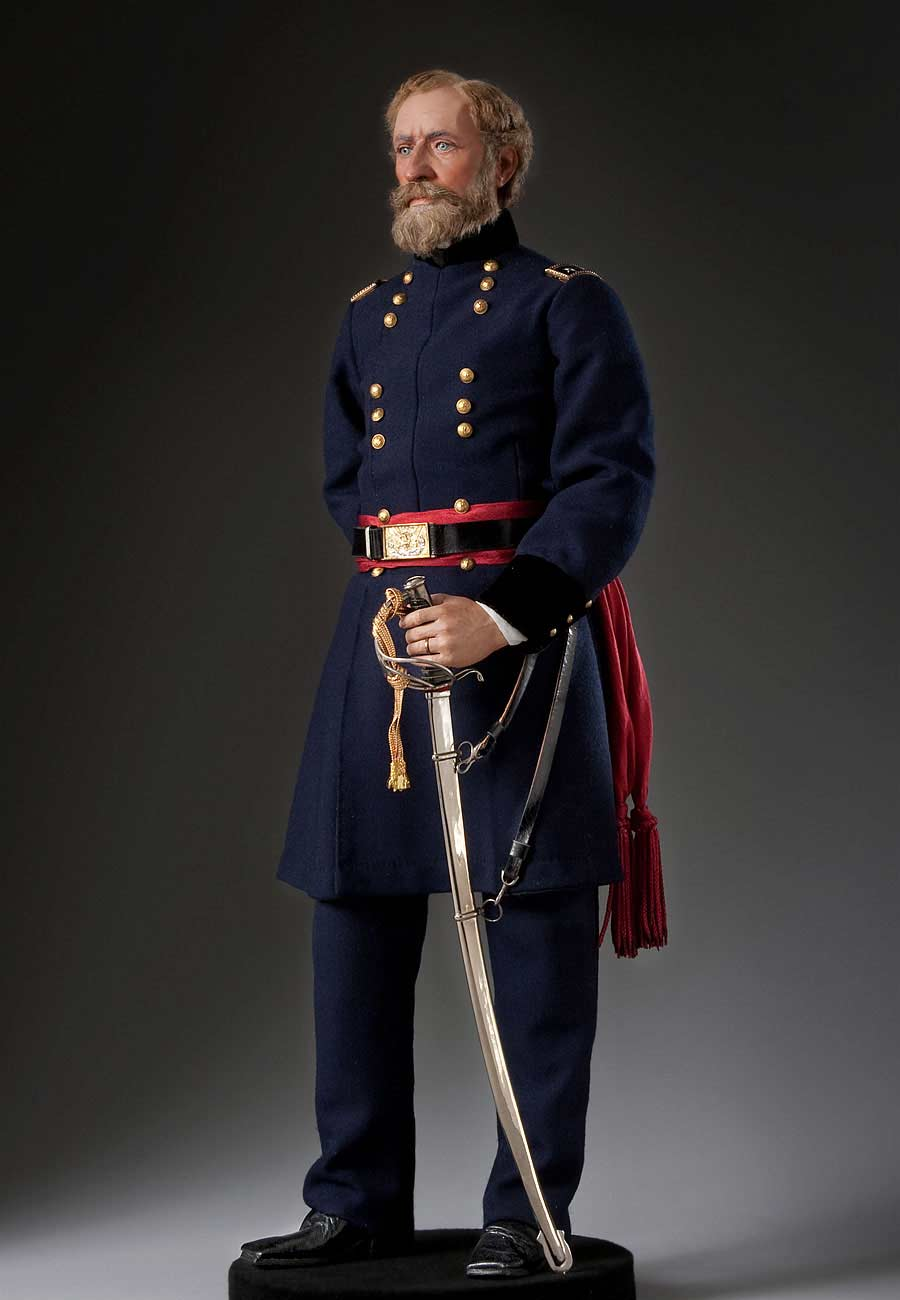 Full length color image of John Fremont aka.