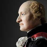 Right closup color image of John Jay aka.
