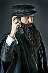 "Thumbnail color image of John Knox aka. ""The Trumpet of the Scottish Reformation"