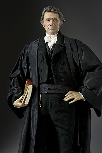 Portrait length color image of John Marshall aka.