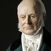 right closup color image of john quincy adams aka