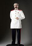 Thumbnail color image of Joseph Stalin aka.  Ioseb Besarionis dze Jugashvili, Ио́сиф Виссарио́нович Ста́лин , by George Stuart.