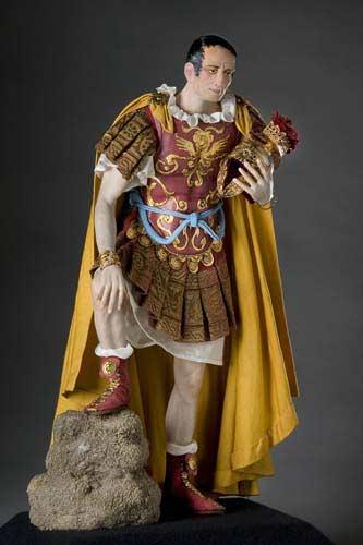 Portrait length color image of Julius Caesar aka.