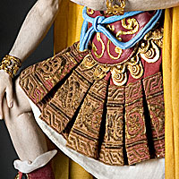 Right closup color image of Julius Caesar aka.
