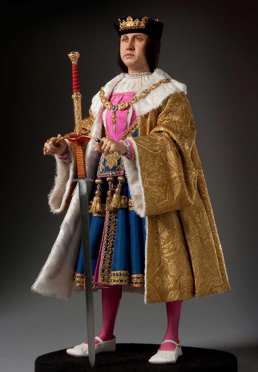 Full length color image of King Ferdinand 1492 aka.