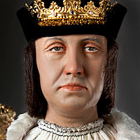 Right closup color image of King Ferdinand 1492 aka.