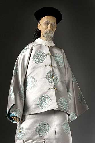 Portrait length color image of Li Hung-Chang aka. Li Hongzhang, by George Stuart.
