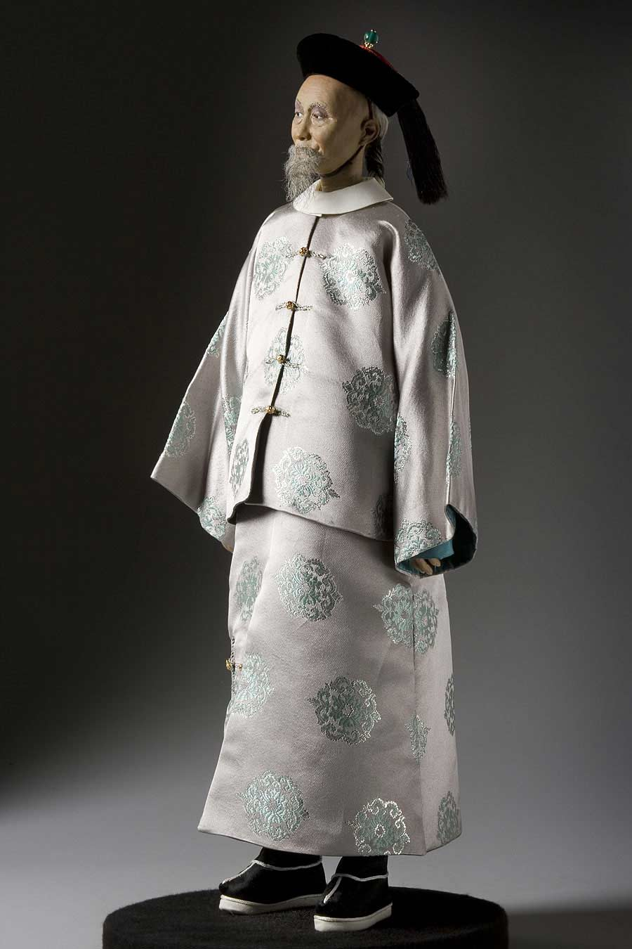 Full length color image of Li Hung-Chang aka. Li Hongzhang, by George Stuart.