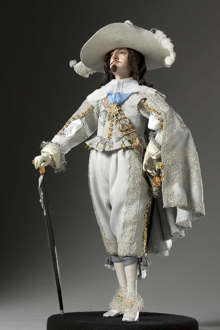 Full length color image of Louis XIII aka. Louis XIII of France,