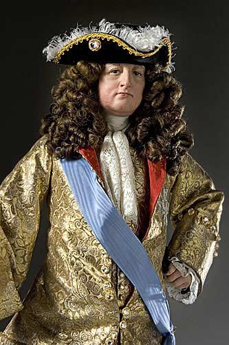 Portrait length color image of Louis XIV 1685 aka.