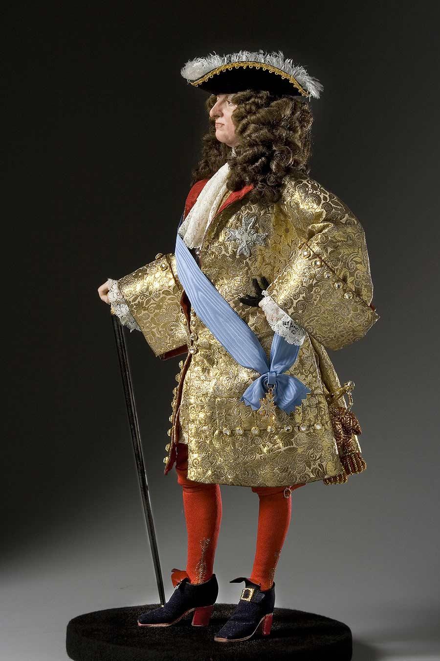 Full length color image of Louis XIV 1685 aka.
