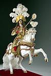 Thumbnail color image of Louis XIV (equestrian) aka. Louis XIV of France,