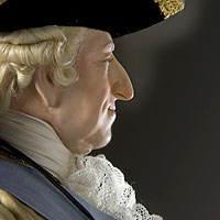Right closup color image of Louis XV 1774 aka.