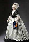 Thumbnail color image of Martha Washington (First Lady), by George Stuart.
