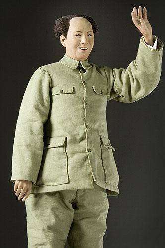 Portrait length color image of Mao Zedong aka. Mao Tse-Tung, by George Stuart.