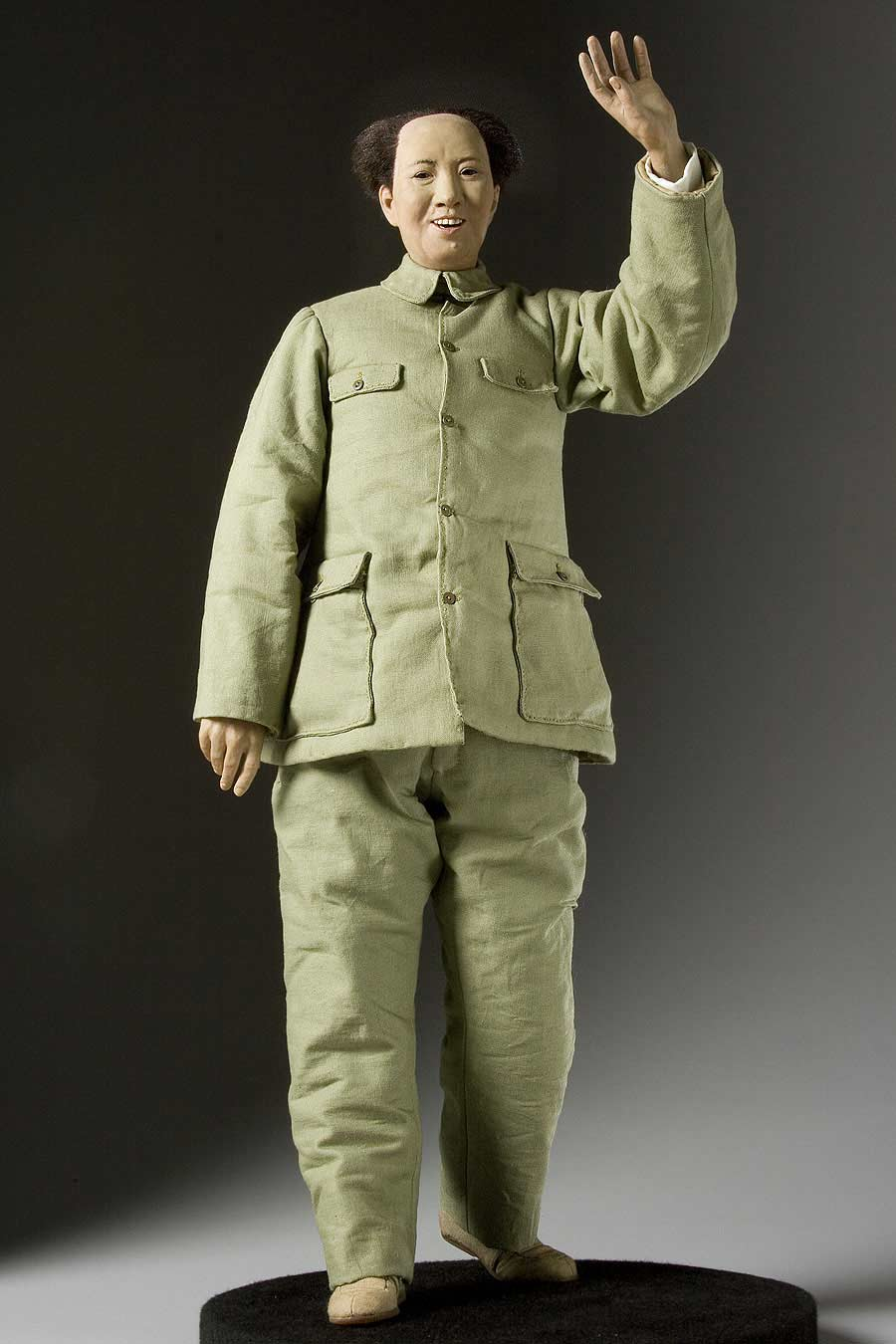 Full length color image of Mao Zedong aka. Mao Tse-Tung, by George Stuart.