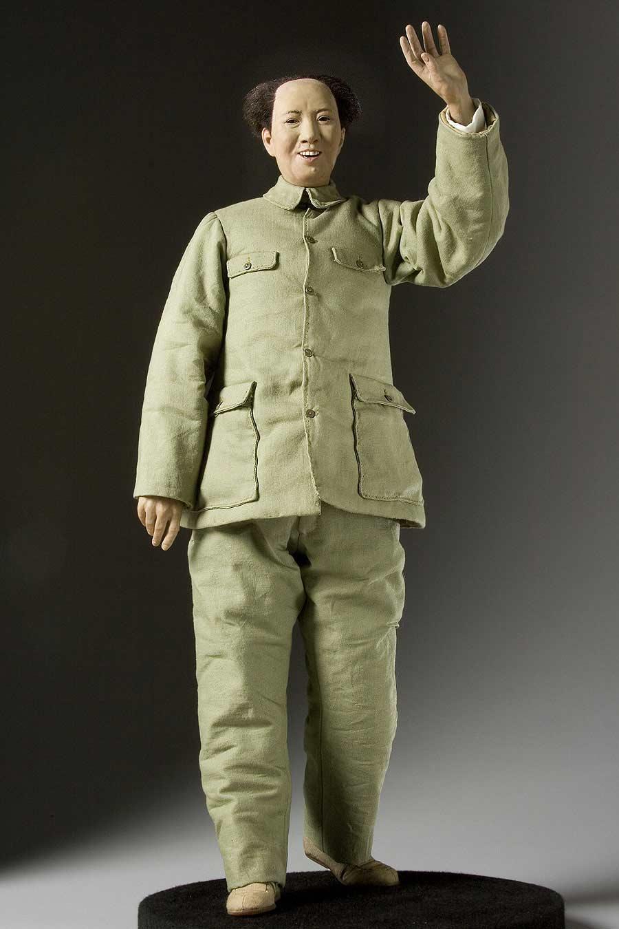 Full length color image of Mao Tse-Tung aka. Mao Zedong, Chairman Mao, by George Stuart.
