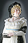 Thumbnail color image of Maria Fitzherbert  (Older) aka. Maria Anne Smythe, by George Stuart.