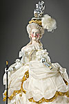 Thumbnail color image of Marie Antoinette (at court) aka.