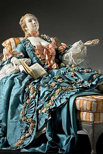 Marquise Jeanne Antoinette Poisson,  Madame de Pompadour (reclined) Best View
