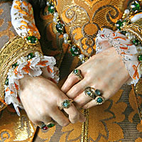 Right closup color image of Mary Tudor aka.