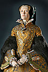 Thumbnail color image of Mary Tudor aka. Mary I of England,  Bloody Mary, by George Stuart.