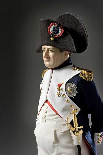 Portrait length color image of Napoleon Bonaparte aka.