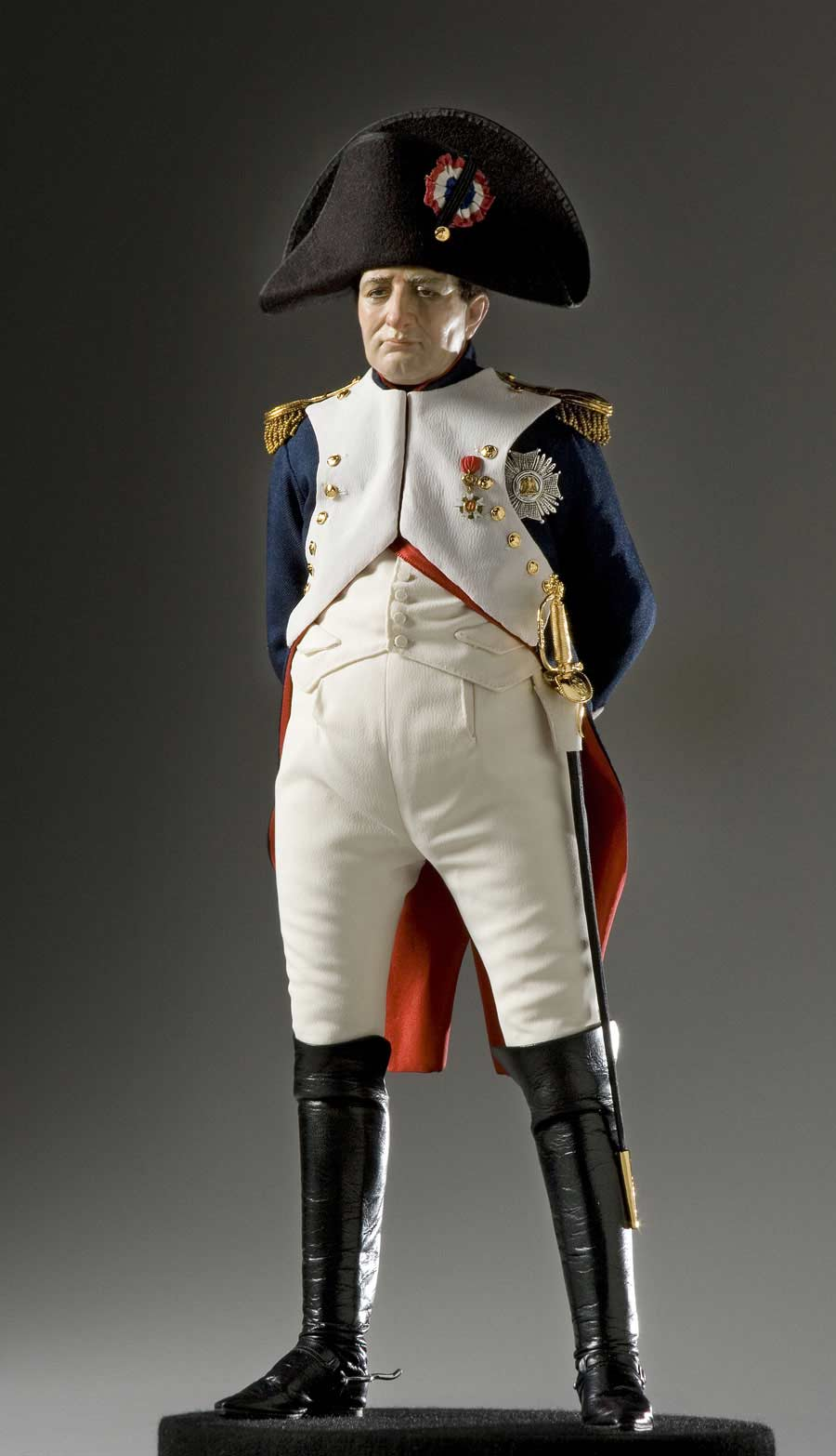 Full length color image of Napoleon Bonaparte aka.