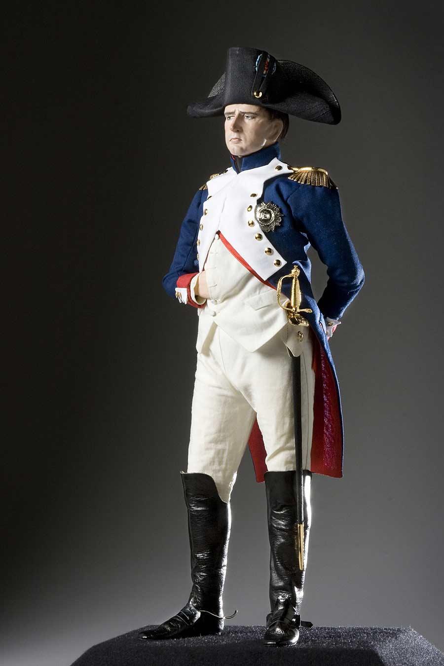 Full length color image of Napoleon Bonaparte (v1) aka. Emperor Napoleon, by George Stuart.