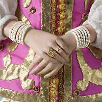 Left close up color image of Natalia Naryshkina aka. Ната́лья Кири́лловна Нары́шкина, by George Stuart.