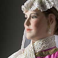 Right closup color image of Natalia Naryshkina aka. Ната́лья Кири́лловна Нары́шкина, by George Stuart.