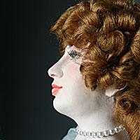 Right closup color image of Nell Gwynne aka. Eleanor Gwyn, by George Stuart.