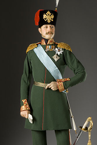 Portrait length color image of Tzar Nicholas I aka. Николай I Павлович, by George Stuart.