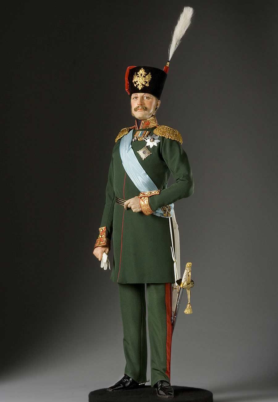 Full length color image of Tzar Nicholas I aka. Николай I Павлович, by George Stuart.