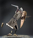 Thumbnail color image of Norman Knight  aka. Crusader, by George Stuart.