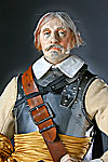 Thumbnail color image of Oliver Cromwell aka. Lord Protector, by George Stuart.
