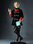 Thumbnail color image of Oscar Wilde aka. Oscar Fingal O'Flahertie Wills Wilde, by George Stuart.