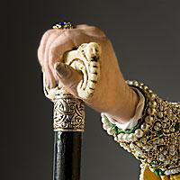 Left close up color image of Patriarch Philaret, by George Stuart.