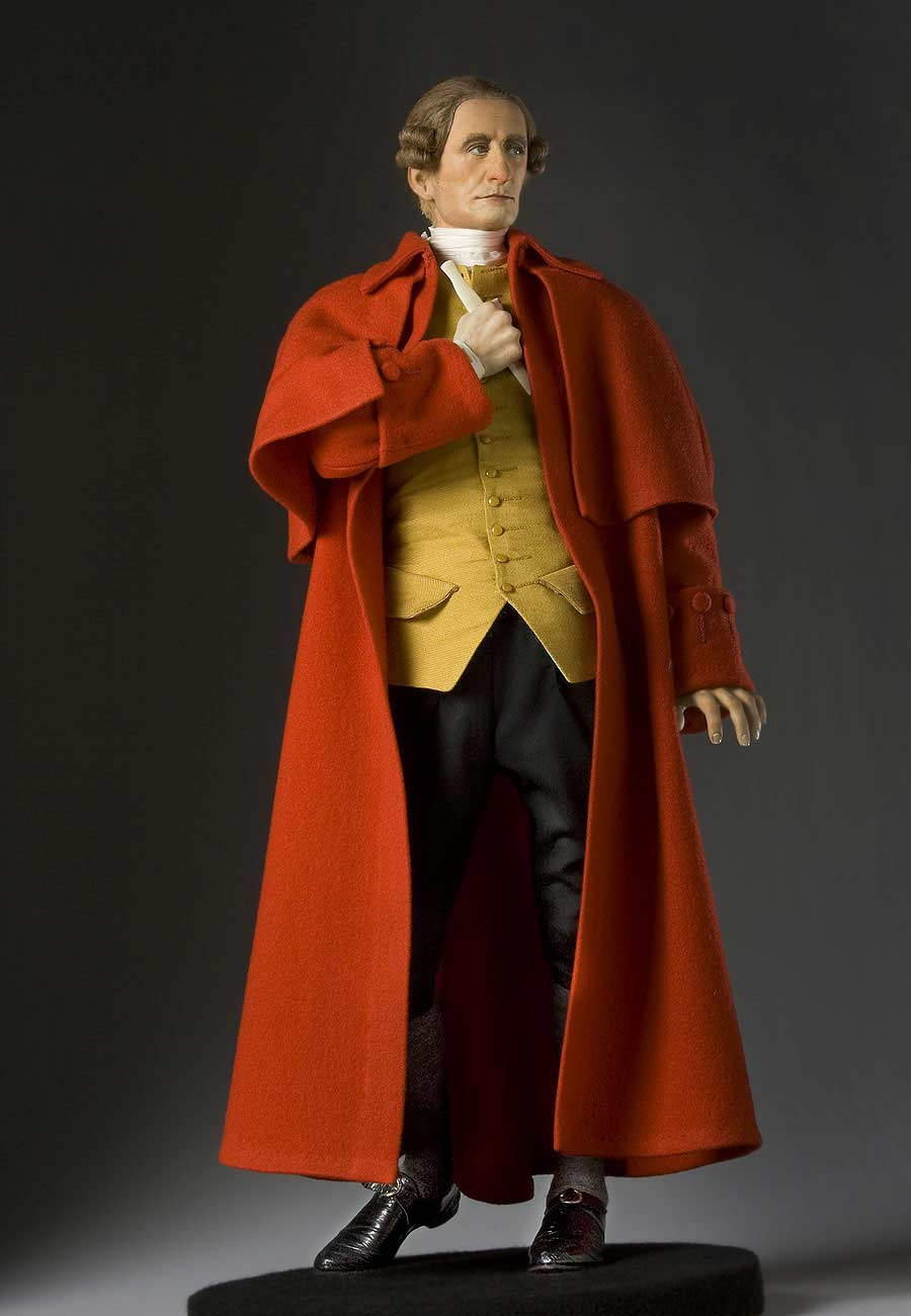 Full length color image of Patrick Henry aka.