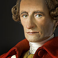 Left close up color image of Patrick Henry aka.